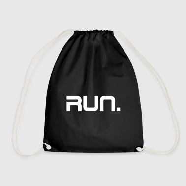 Run run - Drawstring Bag