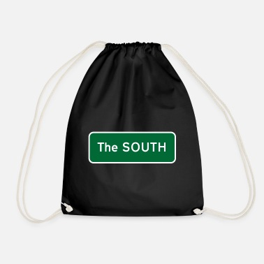 South The South - Drawstring Bag