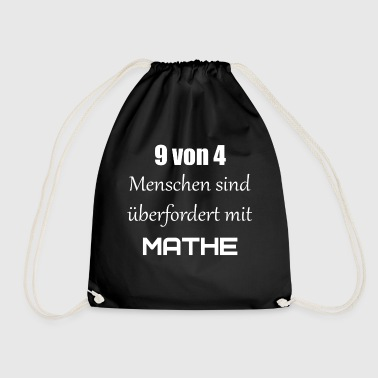 maths - Drawstring Bag