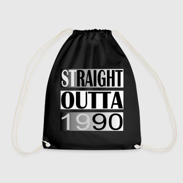 STRAIGHT OUTTA 1990 WEST-COAST-RAPGRUPPE N.W.A. - Turnbeutel
