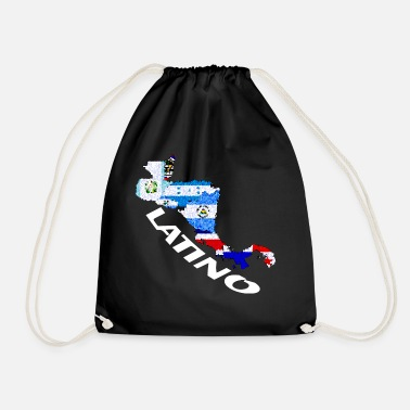 164a8481a6 Central America latino pastel country shirt central america gift - Drawstring  Bag