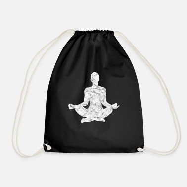 Meditation meditation - Drawstring Bag