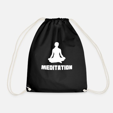 Buddhism Meditation Spirtuality Buddhism - Drawstring Bag