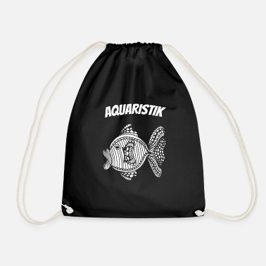 Aquaristik fish hobby aquarium - Drawstring Bag