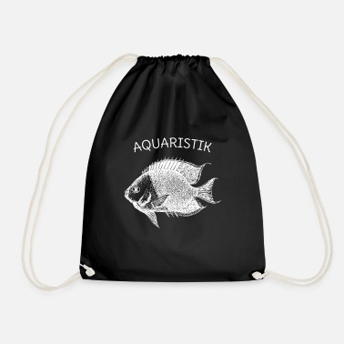 Aquaristik gift aquarium - Drawstring Bag