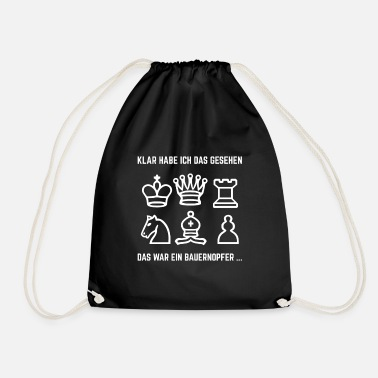 Chess Chess Chess player Chess Championship - Drawstring Bag