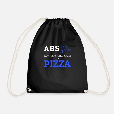 Gym Wear ABS and Pizza Gym Wear - Drawstring Bag