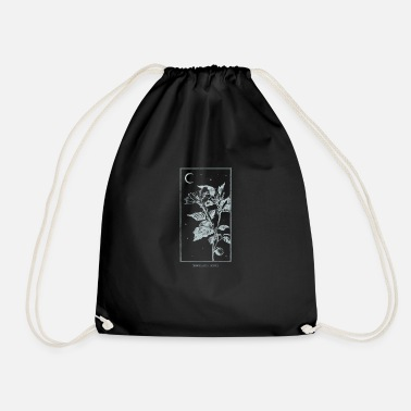 Post Occult Angels Trumpet Psychoactive Plant Gothic - Drawstring Bag