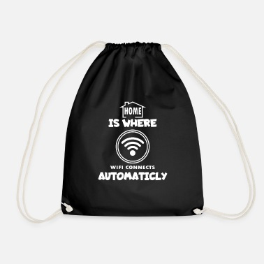 Wifi WiFi - Drawstring Bag