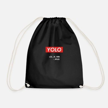 Jk Yolo JK Christian design - Drawstring Bag