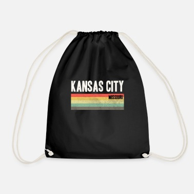Kcmo Kansas City KCMO Kansas City design Gift - Drawstring Bag
