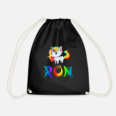 Ron Unicorn Ron - Drawstring Bag