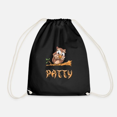 Patty Owl patty - Drawstring Bag