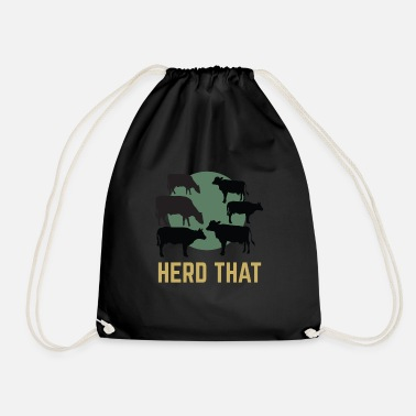 Herd Herd That - Drawstring Bag