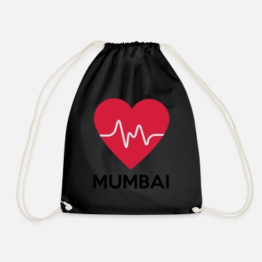 I Heart Mumbai heart Mumbai - Drawstring Bag