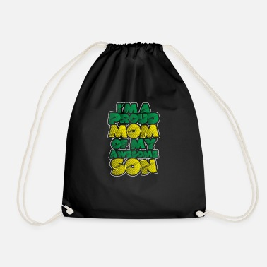 Proud Mom Proud mom - Drawstring Bag