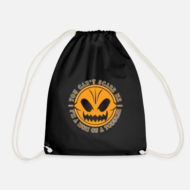 Undaunted Mother of a Toddler Undaunted Mama Pumpkin - Drawstring Bag