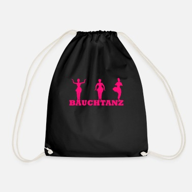 Belly belly dance - Drawstring Bag