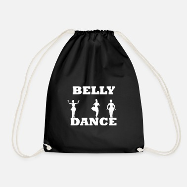 Belly Belly dance belly dance - Drawstring Bag