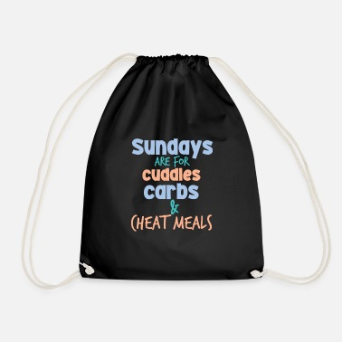 Carbs carbs - Drawstring Bag