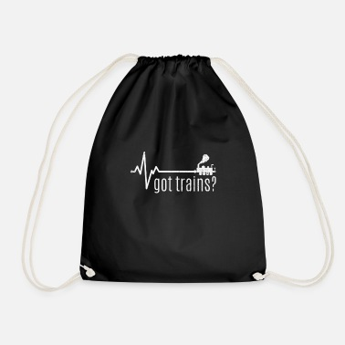 Locomotive locomotive - Drawstring Bag