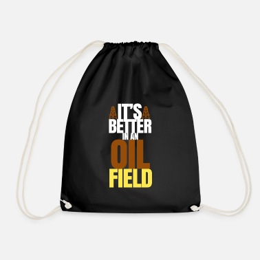 Oilfield oilfield - Drawstring Bag