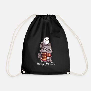 Harry Cats Harry Purrter goochelaar met Owl Potter-fans - Gymtas