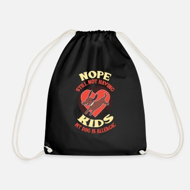 Doggie School Dog dog lover dog owner gift - Drawstring Bag