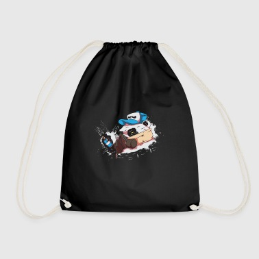 graffiti - Drawstring Bag