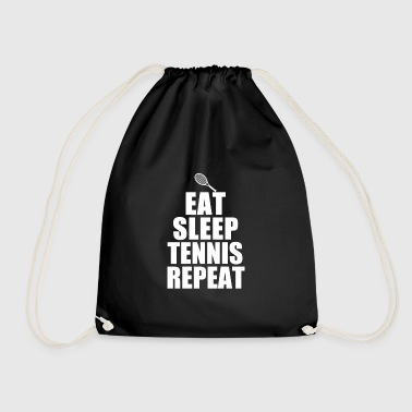 Tennis tennis racket tennis player tennis ball - Drawstring Bag