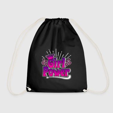 Girl Power - Girl Power - Drawstring Bag