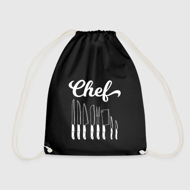 Cook - cook - cook - gift - chef - Drawstring Bag