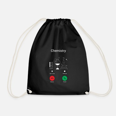 Chemistry CHEMISTRY GETS – THE CHEMIST EXISTENCE IS CALLING ME! - Drawstring Bag