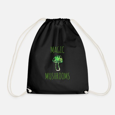 Magic Mushrooms Magic mushrooms magic mushrooms - Drawstring Bag