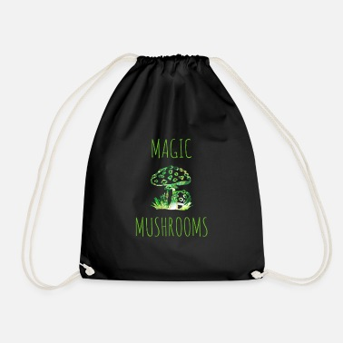 Magic Mushrooms Magic mushrooms Magic mushrooms Fly mushrooms - Drawstring Bag