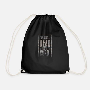 Financial Crisis Gift saying euro wisdom money financial crisis - Drawstring Bag