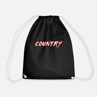 Country COUNTRY - Drawstring Bag