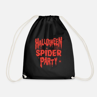 Halloween Party HALLOWEEN SPIDER PARTY - Drawstring Bag
