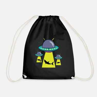 Abduction Alien abduction - Drawstring Bag