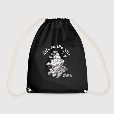 sailboat - Drawstring Bag