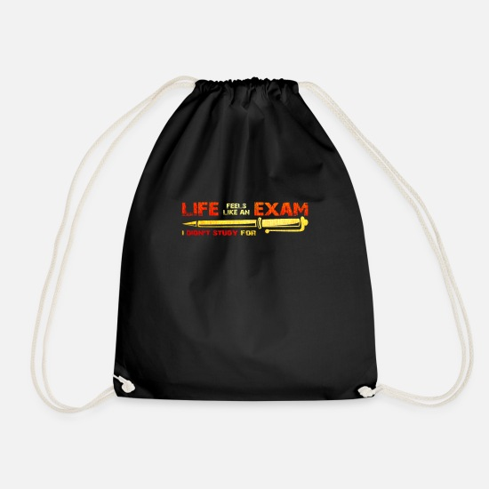 Exam Bags & Backpacks - Exam - Drawstring Bag black