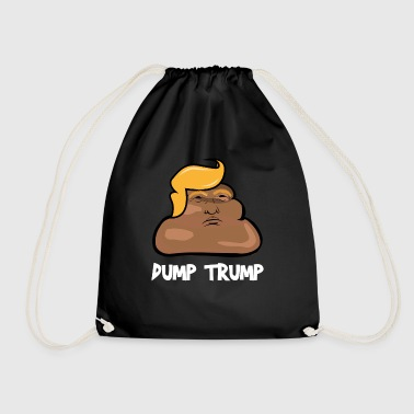 Dump Trump Super Cool Awesome Funny Dump Donald Trump - Sacca sportiva