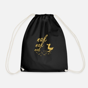 Chatter Duck is chattering - Drawstring Bag