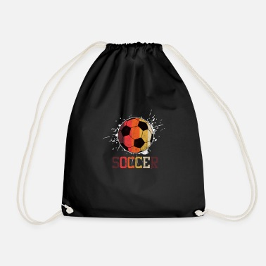 Soccer Ball Soccer Ball - Drawstring Bag
