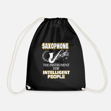 Sax Saxophone musician instrument gift gift idea - Drawstring Bag