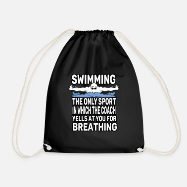 Swim swim - Drawstring Bag