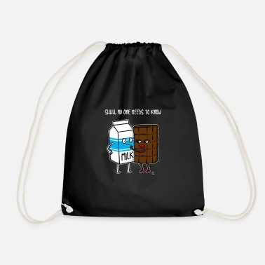 Milk Chocolate Milk Chocolate Chocolate Milk Gift - Drawstring Bag