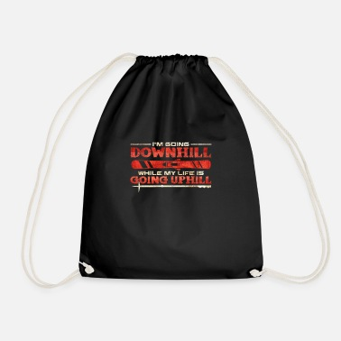 Downhill Downhill - Drawstring Bag