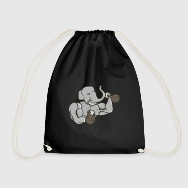 body builder - Drawstring Bag