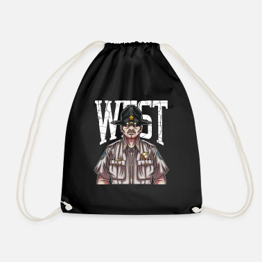 Sheriff sheriff - Drawstring Bag